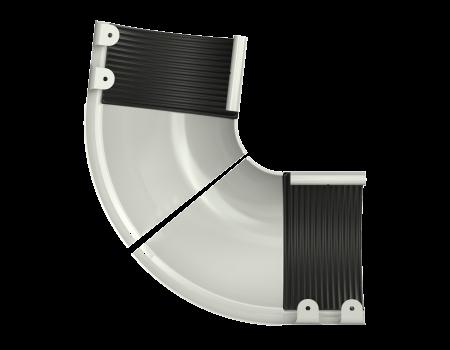 ТН МВС, угол внешний, регулируемый 100 -165°, белый - 2