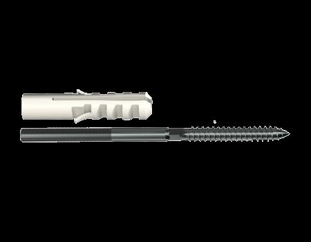 ТН МВС, крепление хомута с дюбелем 100 мм - 2