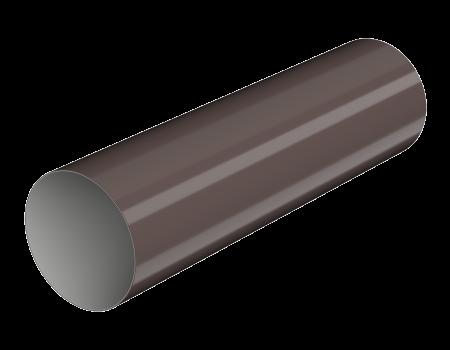 ТН ПВХ МАКСИ труба 1м, коричневая - 1