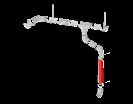 ТН ПВХ МАКСИ труба 1м, коричневая - 8
