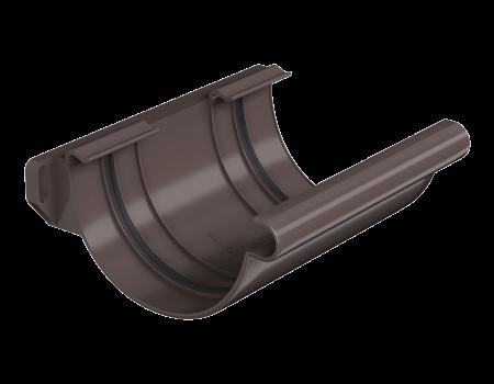 ТН ПВХ МАКСИ соединитель желоба, коричневый - 3
