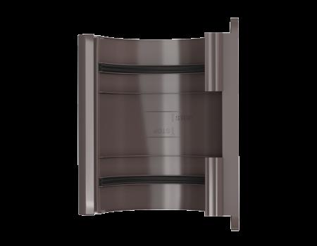 ТН ПВХ МАКСИ соединитель желоба, коричневый - 2