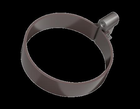 ТН ПВХ МАКСИ хомут трубы, коричневый - 2