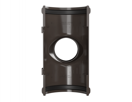 ТН ПВХ D125/82 мм воронка желоба - 3