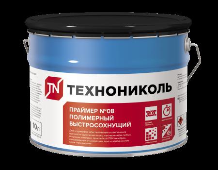 Праймер полимерный ТЕХНОНИКОЛЬ №08 Быстросохнущий, ведро 7 кг - 1