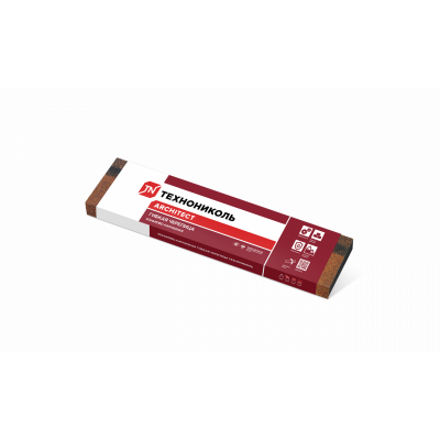 Коньки-карнизы SHINGLAS Бронзовый микс 253х1003 мм (20 гонтов, 20 пог.м, 5 кв.м) - 3