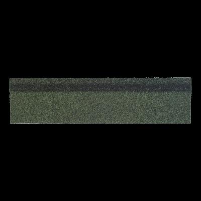Коньки-карнизы SHINGLAS Зеленый микс 253х1003 мм (20 гонтов, 20 пог.м, 5 кв.м) - 1
