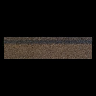 Коньки-карнизы SHINGLAS Коричневый микс 253х1003 мм (20 гонтов, 20 пог.м, 5 кв.м) - 1