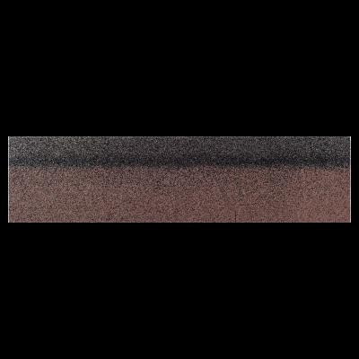 Коньки-карнизы SHINGLAS Коричневый экстра 253х1003 мм (20 гонтов, 20 пог.м, 5 кв.м) - 1