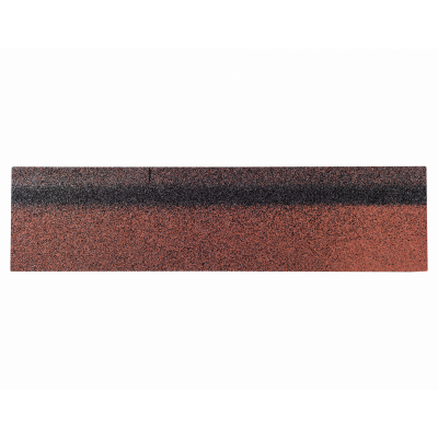 Коньки-карнизы SHINGLAS Красный экстра 253х1003 мм (20 гонтов, 20 пог.м, 5 кв.м) - 2