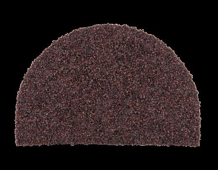 Заглушка конька полукруглого LUXARD Мокко, 95х148 мм, (радиус 74 мм) - 1