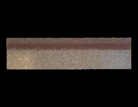 Коньки-карнизы SHINGLAS Аликанте 253х1003 мм (20 гонтов, 20 пог.м, 5 кв.м) - 1