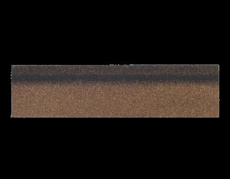Коньки-карнизы SHINGLAS Дюна 253х1003 мм (20 гонтов, 20 пог.м, 5 кв.м) - 1
