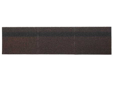 Коньки-карнизы SHINGLAS Агат 253х1003 мм (20 гонтов, 20 пог.м, 5 кв.м) - 1