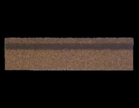 Коньки-карнизы SHINGLAS Светло-коричневый 253х1003 мм (20 гонтов, 20 пог.м, 5 кв.м) - 1