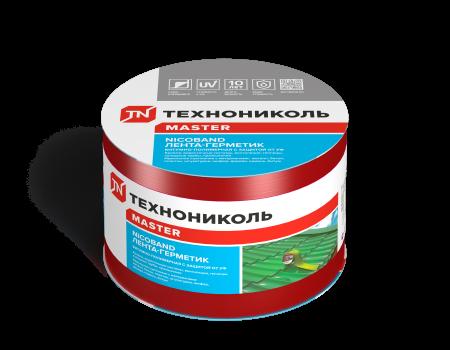 NICOBAND красный 10м х 10см ГП (коробка 3 рулона) - 1