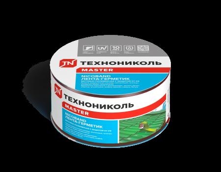 NICOBAND коричневый 10м х 7,5см ГП (коробка 4 рулона) - 1