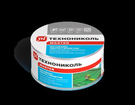 NICOBAND серебристый 10м х 7,5см ГП (коробка 4 рулона) - 1