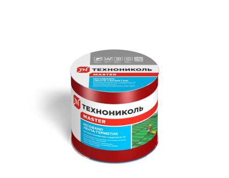 NICOBAND красный 3м х 10см ГП (коробка 12 рулонов) - 1