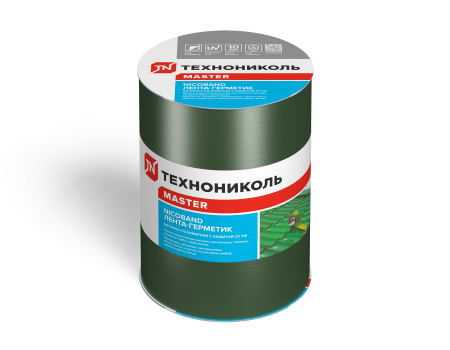 NICOBAND зеленый 3м х 15см ГП (коробка 8 рулонов) - 1