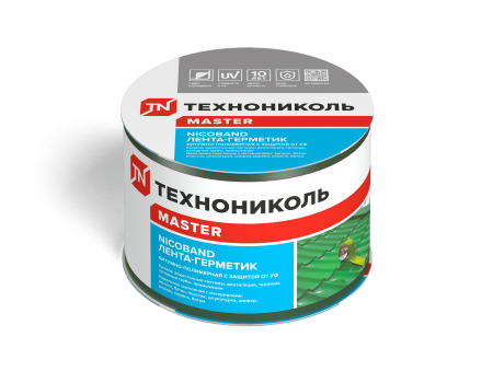 NICOBAND зеленый 3м х 7,5см ГП (коробка 16 рулонов) - 1