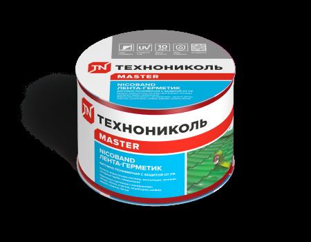 Лента-герметик NICOBAND красный 3м х 7,5см ГП (коробка 16 рулонов) - 1