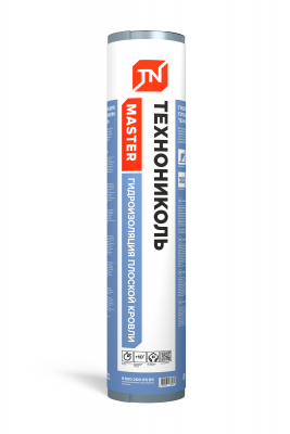 Гидроизоляция плоской кровли ТЕХНОНИКОЛЬ,8x1 м - 1
