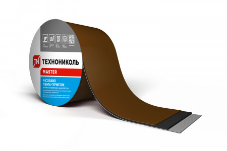 NICOBAND коричневый 3м х 15см ГП (коробка 8 рулонов) - 2