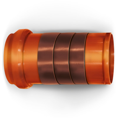 NICOBAND коричневый 3м х 10см ГП (коробка 12 рулонов) - 4