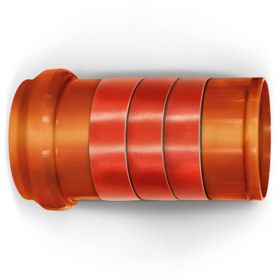 NICOBAND красный 10м х 20см ГП (коробка 1 рулон) - 5