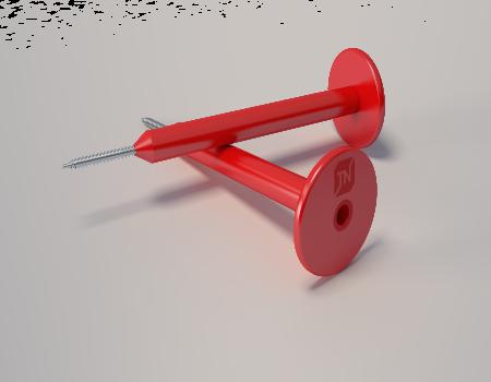 Телескопический крепёж, 170 мм, 370 шт/уп. - 1