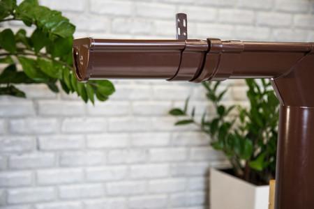 ТН МВС, труба d 90 мм, 1 м.п., коричневая - 2