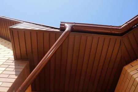 ТН МВС, труба d 90 мм, 1 м.п., коричневая - 7