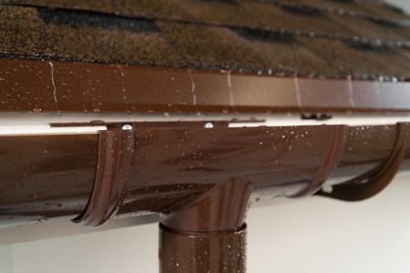 ТН ПВХ D125/82 мм желоб (1,5 м), коричневый - 6