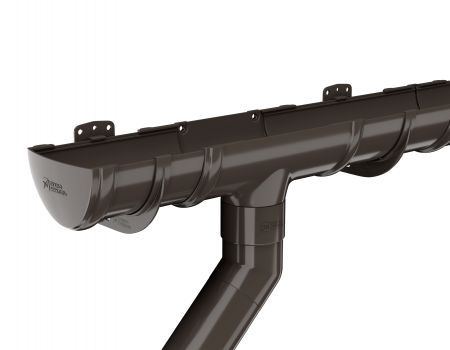 ТН ПВХ D125/82 мм угол желоба, регулируемый 90°-150° - 6