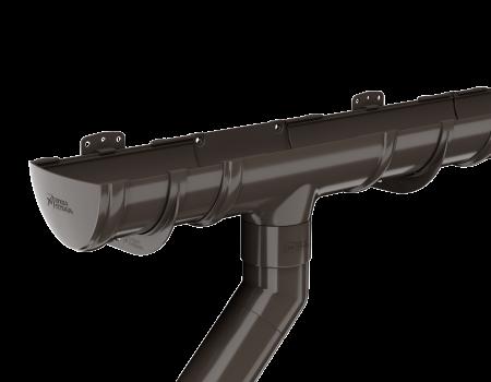 ТН ПВХ D125/82 мм колено трубы 135° - 4