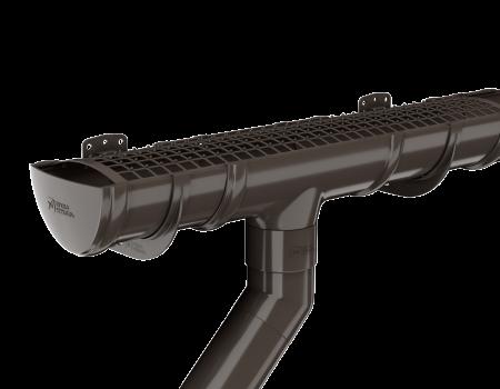ТН ПВХ D125/82 мм колено трубы 135° - 5
