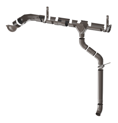 ТН МВС, желоб водосточный 125 мм, 3 п.м - 4