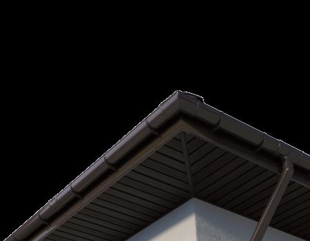 ТН ПВХ D125/82 мм угол желоба, регулируемый 90°-150° - 11