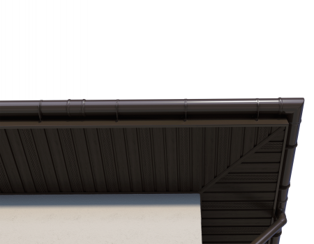 ТН ПВХ D125/82 мм хомут трубы универсальный 140мм - 9