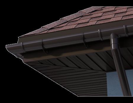 ТН ПВХ D125/82 мм желоб (1,5 м) - 9
