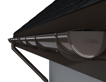 ТН ПВХ D125/82 мм решетка желоба защитная 0,6м - 10