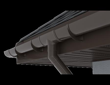 ТН ПВХ D125/82 мм соединитель желоба - 12