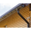 ТН ПВХ МАКСИ труба 1м, коричневая - 10