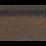Коньки-карнизы SHINGLAS Коричневый микс 253х1003 мм (20 гонтов, 20 пог.м, 5 кв.м) - 2