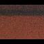 Коньки-карнизы SHINGLAS Красный микс 253х1003 мм (20 гонтов, 20 пог.м, 5 кв.м) - 2