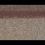 Коньки-карнизы SHINGLAS Аликанте 253х1003 мм (20 гонтов, 20 пог.м, 5 кв.м) - 2