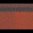 Коньки-карнизы SHINGLAS Красный 253х1003 мм (20 гонтов, 20 пог.м, 5 кв.м) - 2