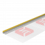 Профиль примыкающий оконный 6 мм с армирующей сеткой ТЕХНОНИКОЛЬ - 1