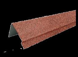 ТЕХНОНИКОЛЬ HAUBERK наличник оконный металлический LUX, терракотовый, шт.